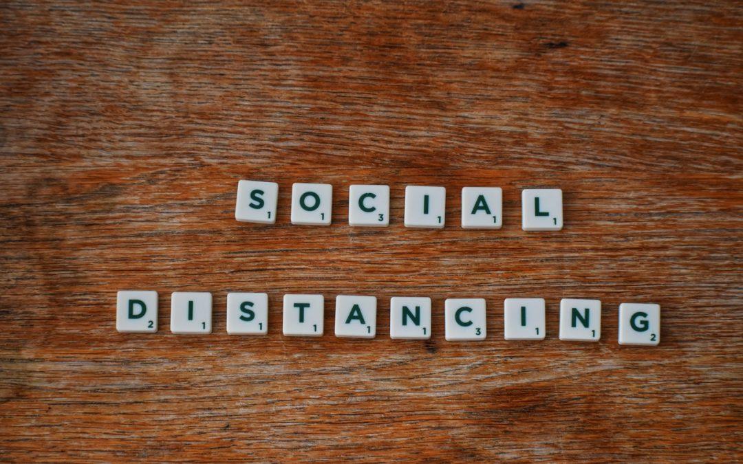 Social Distancing - High Spec Property Services Bristol